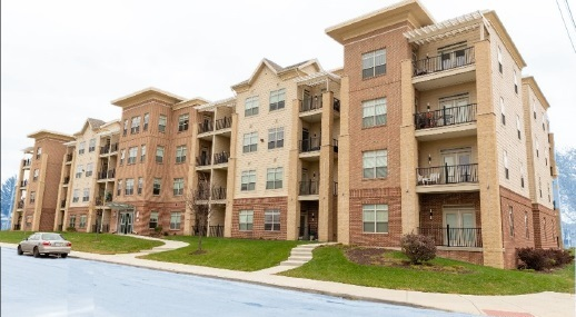 Colingwood Green Apartments Phase 1, 4 story nice apartment complex