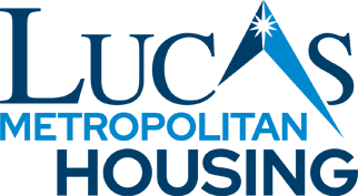Lucas Metropolitan Housing Mobile Menu Logo