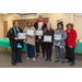 elected Resident Advisory Board standing with certificates